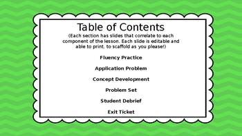 Eureka Math/Engage NY 3rd grade Module 4 Lesson 2 Slideshow
