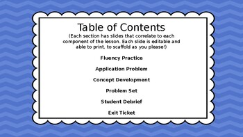 Eureka Math/Engage NY 3rd grade Module 4 Lesson 6 Slideshow