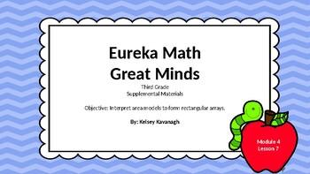 Eureka Math/Engage NY 3rd grade Module 4 Lesson 7 Slideshow