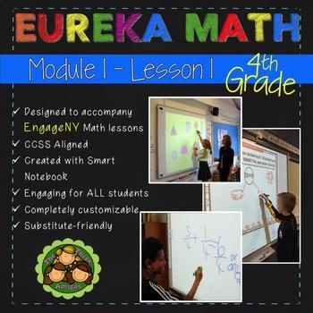 Eureka Math/Engage NY 4th Grade Module 1 Lesson 1 FREE