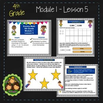 Eureka Math/Engage NY 4th Grade Module 1 Lesson 5