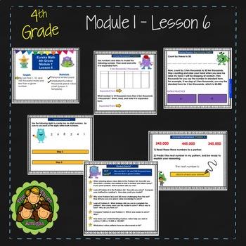 Eureka Math/Engage NY 4th Grade Module 1 Lesson 6