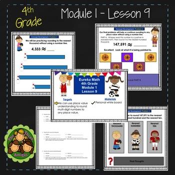 Eureka Math/Engage NY 4th Grade Module 1 Lesson 9
