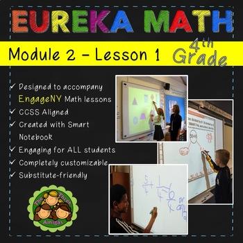 Eureka Math/Engage NY 4th Grade Module 2 Lesson 1 FREE