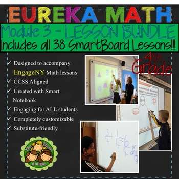 Eureka Math/Engage NY 4th Grade Module 3 LESSON BUNDLE #2 (Lessons 20-38)
