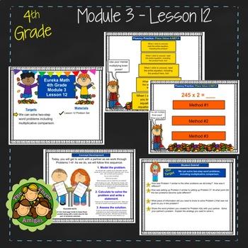 Eureka Math/Engage NY 4th Grade Module 3 Lesson 12