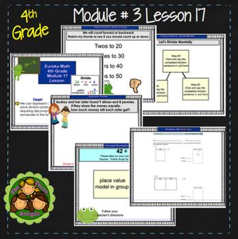 Eureka Math/Engage NY 4th Grade Module 3 Lesson 17
