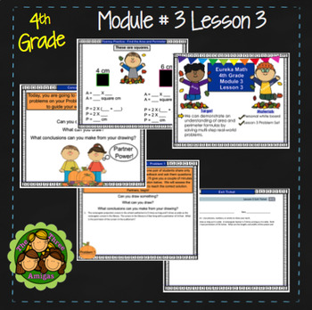 Eureka Math/Engage NY 4th Grade Module 3 Lesson 3