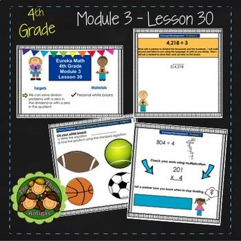 Eureka Math/Engage NY 4th Grade Module 3 Lesson 30