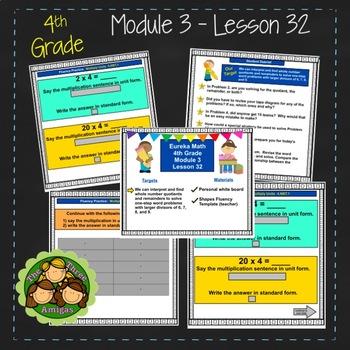 Eureka Math/Engage NY 4th Grade Module 3 Lesson 32