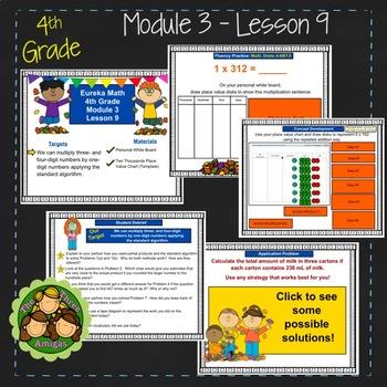 Eureka Math/Engage NY 4th Grade Module 3 Lesson 9