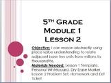 Eureka Math/ Engage NY 5th Grade Module 1 Lesson 2 PowerPoint