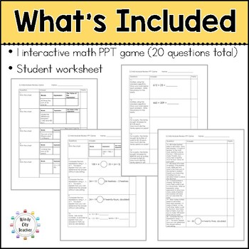 Eureka Math/ Engage NY 5th Grade Module 2 Mid-Module Review PPT Game
