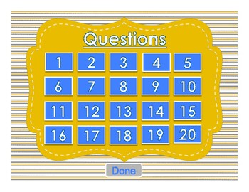 Eureka Math/ Engage NY 5th Grade Module 3 Mid-Module Review PPT Game