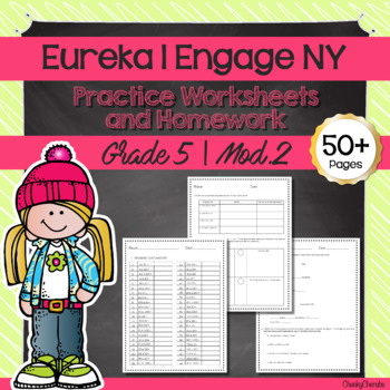 Eureka Math | Engage NY - 5th Grade Extra Worksheets (MODULE 2)