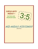 Eureka Math/Engage NY 6th Grade Module 1 Mid-Module Assessment (Modified)