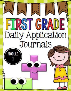 Eureka Math (Engage NY) Application Problem Journal Grade 1: Module 1