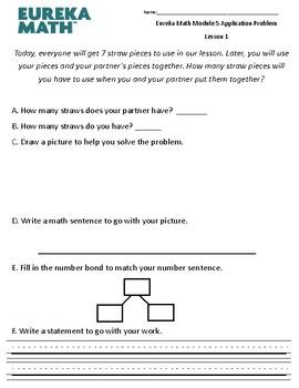 Eureka Math / Engage NY Application Problem- Module 5