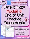 2nd Grade Eureka Math / Engage NY End Of Module 6 Assessme