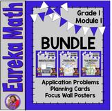 Eureka Math Grade 1 Module 1 BUNDLE- Resources for organiz