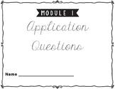 Eureka Math/Engage NY ~~ Grade 1 ~~ Applications ~~ All Modules
