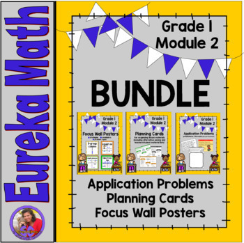 Eureka Math Grade 1 Module 2 BUNDLE - Resources for organizing and teaching