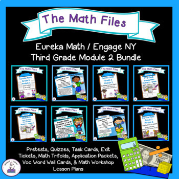 Eureka Math Engage NY Grade 3 Module 2 Bundle