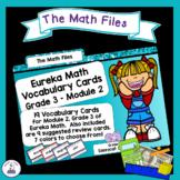 Eureka Math Engage NY Grade 3 Module 2 Vocabulary Word Wall Cards