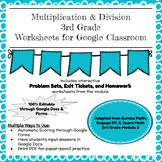 Eureka Math (Engage NY) Grade 3 Module 1 for Google Classroom!