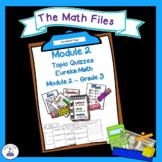 Eureka Math Engage NY Grade 3 Module 2 Quizzes - Editable