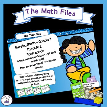 Eureka Math Engage NY Grade 3 Module 2 Task Cards