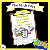 Eureka Math Engage NY Grade 3 Module 3 Quizzes - Editable