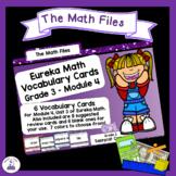 Eureka Math Engage NY Grade 3 Module 4 Vocabulary Word Wall Cards