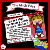 Eureka Math Engage NY Grade 3 Module 5 Vocabulary Word Wall Cards
