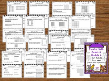Eureka Math Engage NY Grade 3 Module 4 Bundle