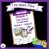 Eureka Math Engage NY Grade 3 Module 4 Quizzes - Editable