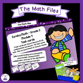Eureka Math Engage NY Grade 3 Module 4 Task Cards