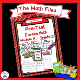 Eureka Math Engage NY Grade 3 Module 5 Pretest - Editable!