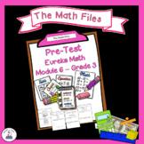 Eureka Math Engage NY Grade 3 Module 6 Pretest - Editable!