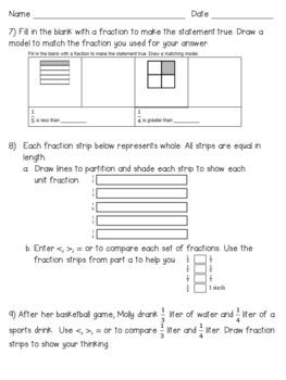 Eureka Math Engage NY Grade 3 Module 5 Quizzes - Editable