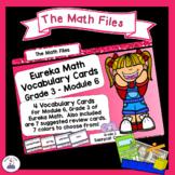 Eureka Math Engage NY Grade 3 Module 6 Vocabulary Word Wall Cards