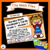 Eureka Math Engage NY Grade 3 Module 7 Vocabulary Word Wall Cards