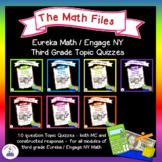 Eureka Math / Engage NY Grade 3 Quizzes Bundle - All Modules