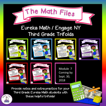 Eureka Math Engage NY Grade 3 Trifolds Notes and Extra Practice Bundle