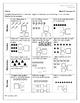 Eureka Math / Engage NY Grade One Module 1 Weekly Homework