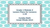 Eureka Math/Engage NY Great Minds Grade 1 Module 4 Lesson