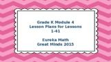 Eureka Math/Engage NY Great Minds Grade K Module 4 Lesson