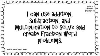 "Eureka Math/Engage NY - ""I Can"" Statements 5th grade Module 4"