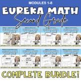Eureka Math (Engage NY) Interactive Notebook BUNDLE | 2nd