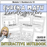 Eureka Math (Engage NY) Interactive Notebook | Module 1 [K